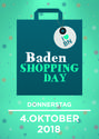 Shopping Day in Baden am 4. Oktober 2018